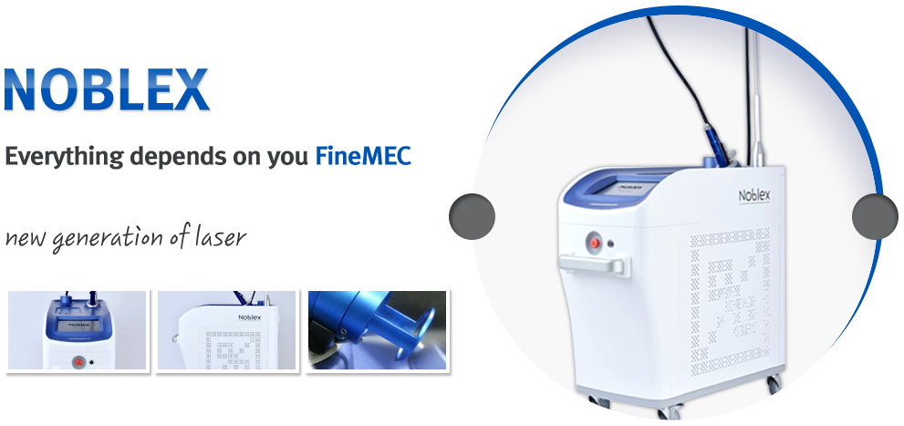 NOBLEX Everything depends on you FineMEC new generation of laser